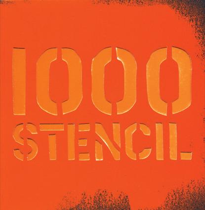 1000 STENCIL: portada