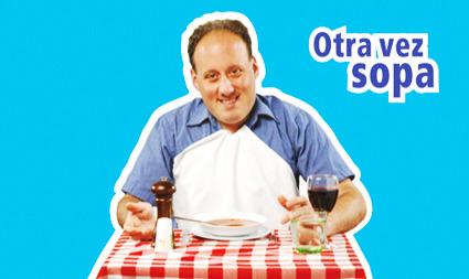 OTRA VEZ SOPA: portada