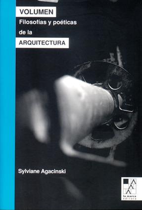 VOLUMEN FILOSOFIAS Y POETICAS DE LA ARQUITECTURA: portada