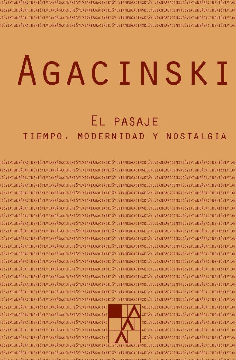 PASAJE,EL: portada