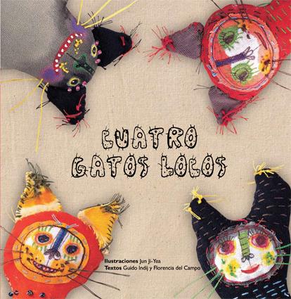 CUATRO GATOS LOCOS: portada