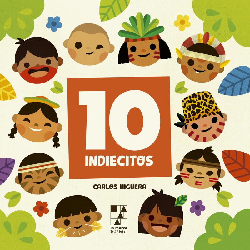 DIEZ INDIECITOS / TEN LITTLE INDIANS: portada