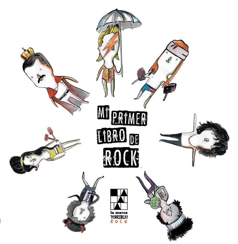 MI PRIMER LIBRO DE ROCK: portada
