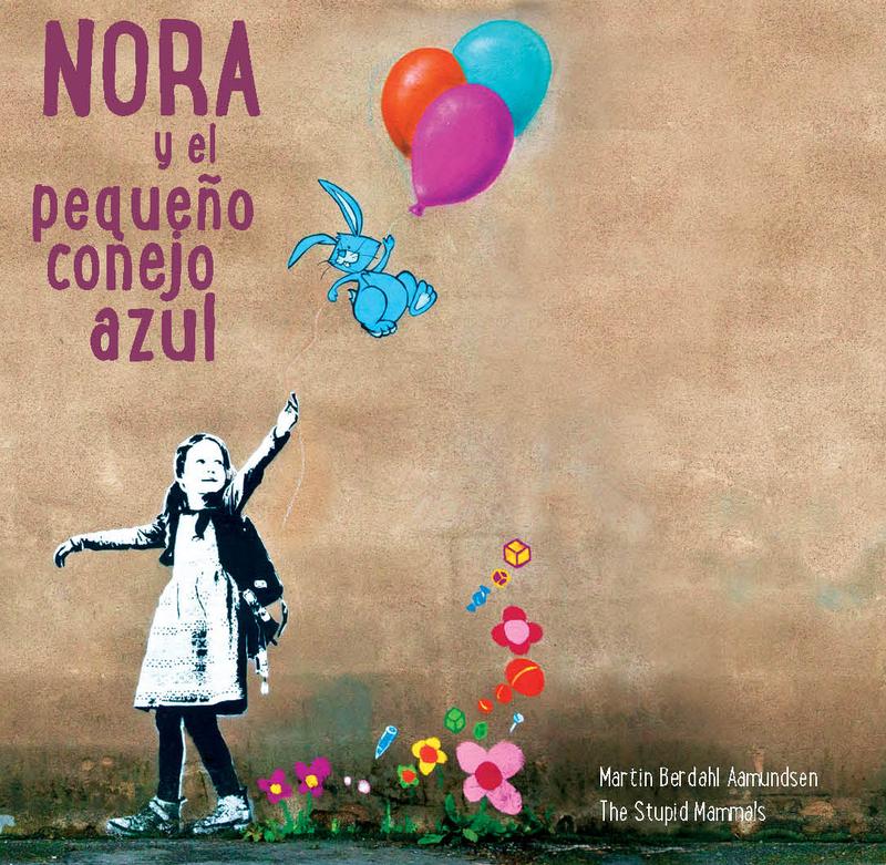 NORA Y EL PEQUEÑO CONEJO AZUL: portada