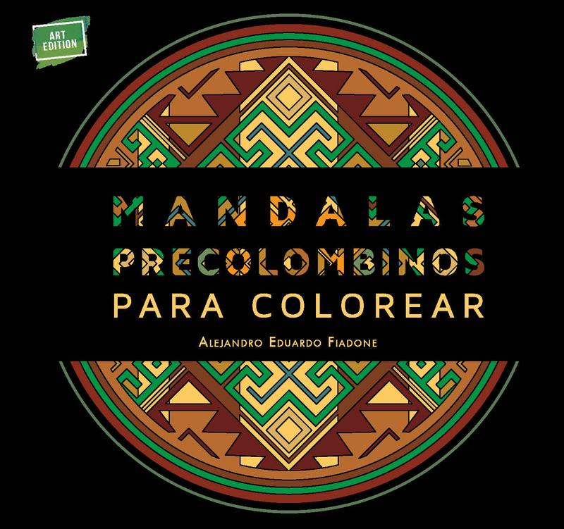MANDALAS PRECOLOMBINOS PARA COLOREAR: portada