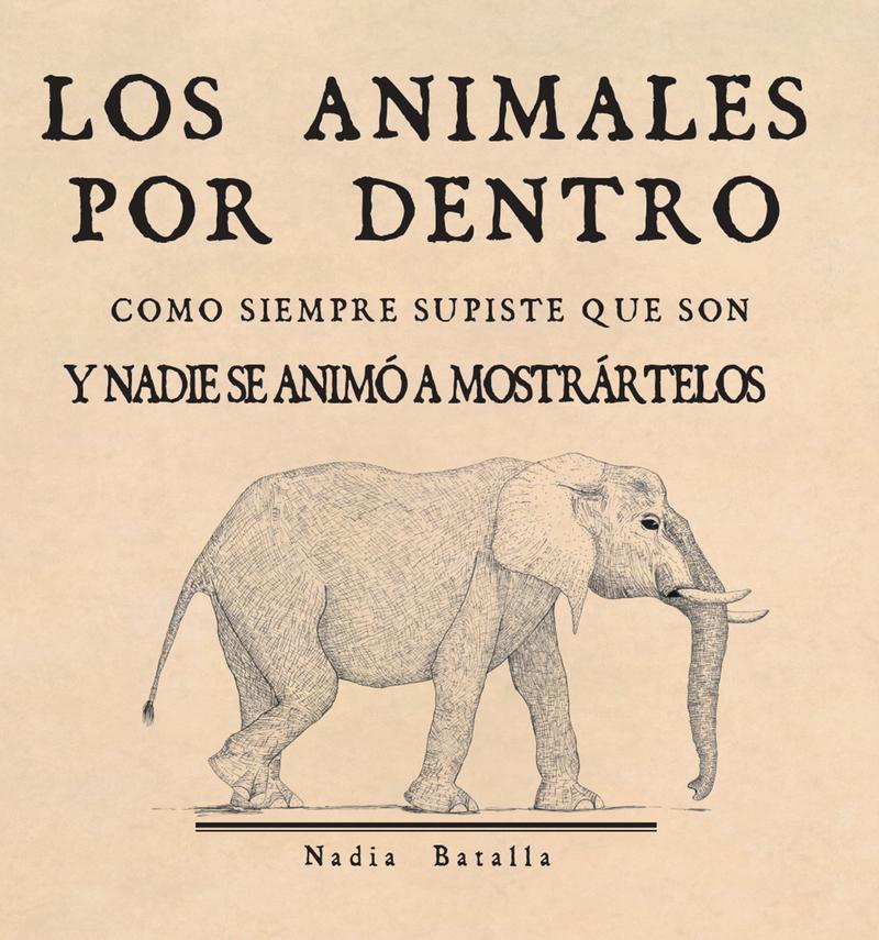 Los animales por dentro: portada