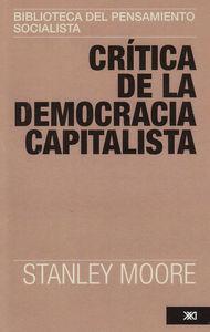 CRITICA DE LA DEMOCRACIA CAPITALISTA: portada