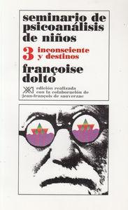 SEMINARIO DE PSICOANALISIS DE NIñOS 3: portada