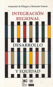 INTEGRACION REGIONAL DESARROLLO Y EQUIDAD: portada
