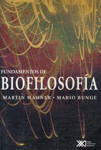 FUNDAMENTOS DE BIOFILOSOFIA: portada