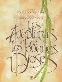 AVENTURAS DE LOS JOVENES DIOSES: portada