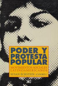 PODER Y PROTESTA POPULAR: portada