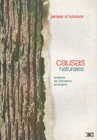 CAUSAS NATURALES: portada