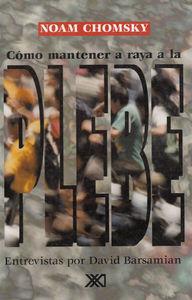 COMO MANTENER A RAYA A LA PLEBE: portada