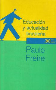 EDUCACION Y ACTUALIDAD BRASILEñA: portada