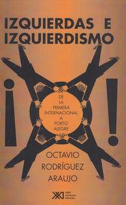 ISQUIERDAS E IZQUIERDISMO: portada
