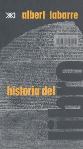 HISTORIA DEL LIBRO: portada