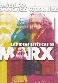IDEAS ESTETICAS DE MARX,LAS: portada