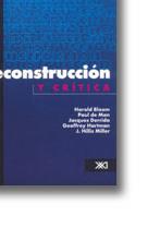 DECONSTRUCCIÓN Y CRÍTICA: portada
