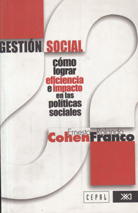 GESTION SOCIAL: portada