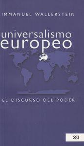 UNIVERSALISMO EUROPEO: portada