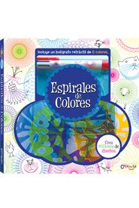 Espirales de colores: portada