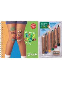 Libro del body crayon, El: portada