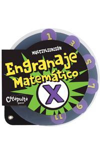 Engranaje matemático multiplicación: portada