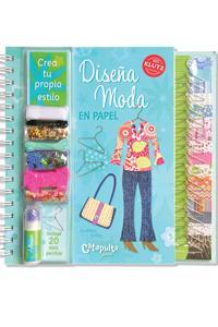 Diseña moda en papel: portada