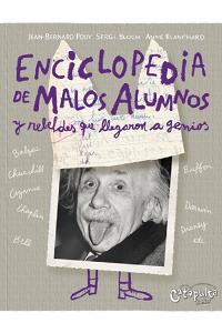 Enciclopedia de malos alumnos y rebeldes: portada