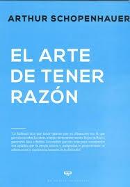 EL ARTE DE TENER RAZÓN: portada