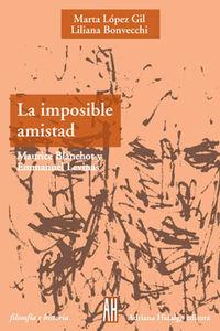 IMPOSIBLE AMISTAD: portada
