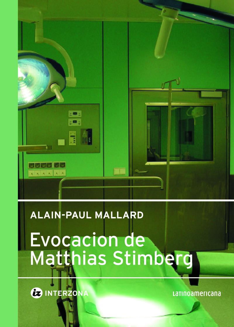 EVOCACIÓN DE MATTHIAS STIMMBERG: portada
