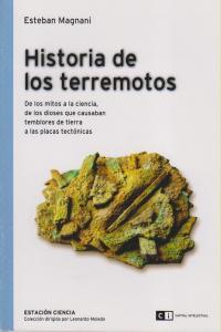 HISTORIA DE LOS TERREMOTOS: portada