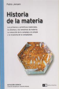 HISTORIA DE LA MATERIA: portada