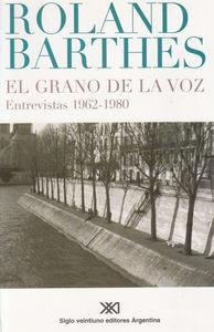 GRANO DE LA VOZ, EL: portada
