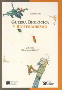 SUERRA BIOLOGIA Y BIOTERRORISMO: portada