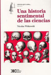 UNA HISTORIA SENTIMENTAL DE LAS CIENCIAS: portada