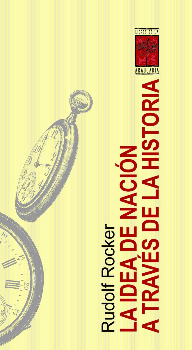 LA IDEA DE NACIÓN A TRAVÉS DE LA HISTORIA: portada