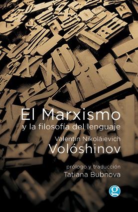 El marxismo y la filosofía del lenguaje: portada