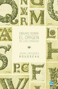 Ensayo sobre el origen de las lenguas: portada
