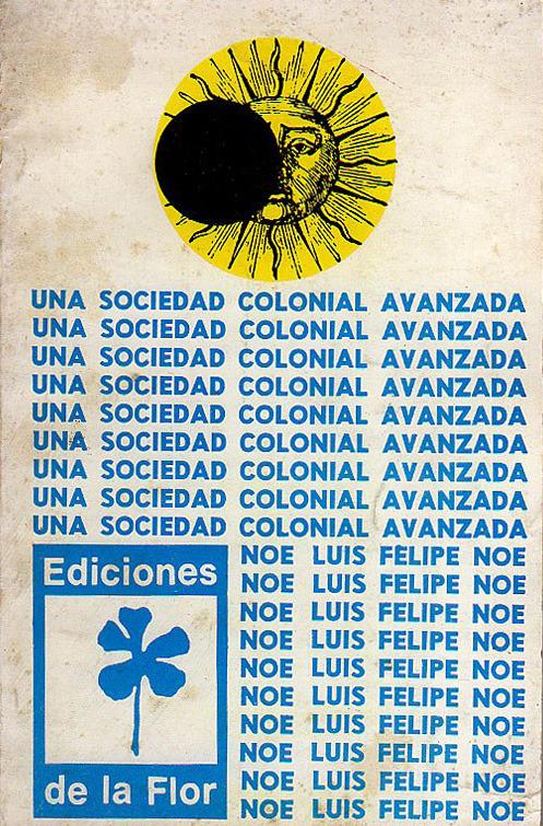 UNA SOCIEDAD COLONIAL AVANZADA: portada
