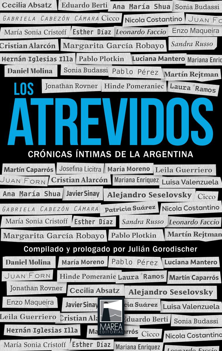 ATREVIDOS, LOS: portada