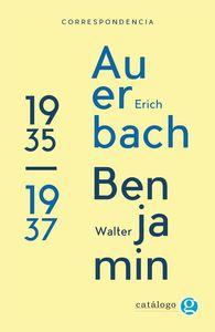 Correspondencia Walter Benjamin-Erich Auerbach: portada