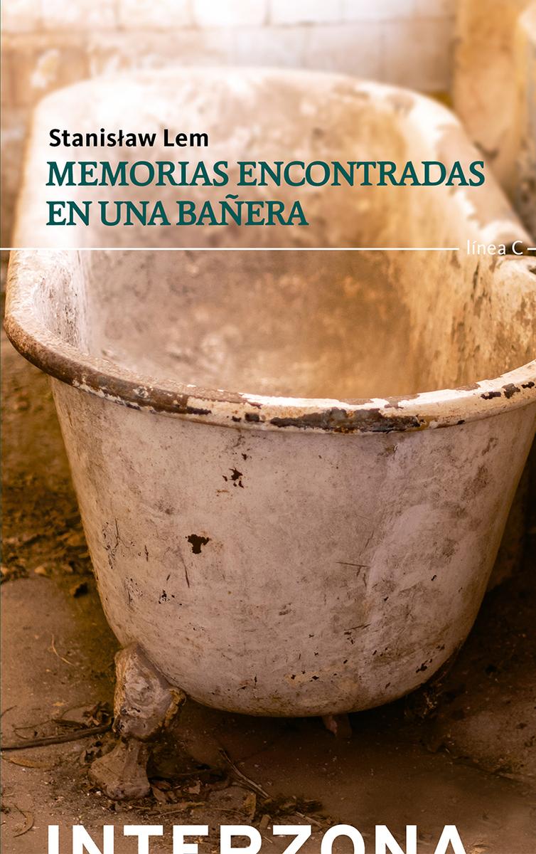 MEMORIAS ENCONTRADAS EN UNA BAÑERA: portada