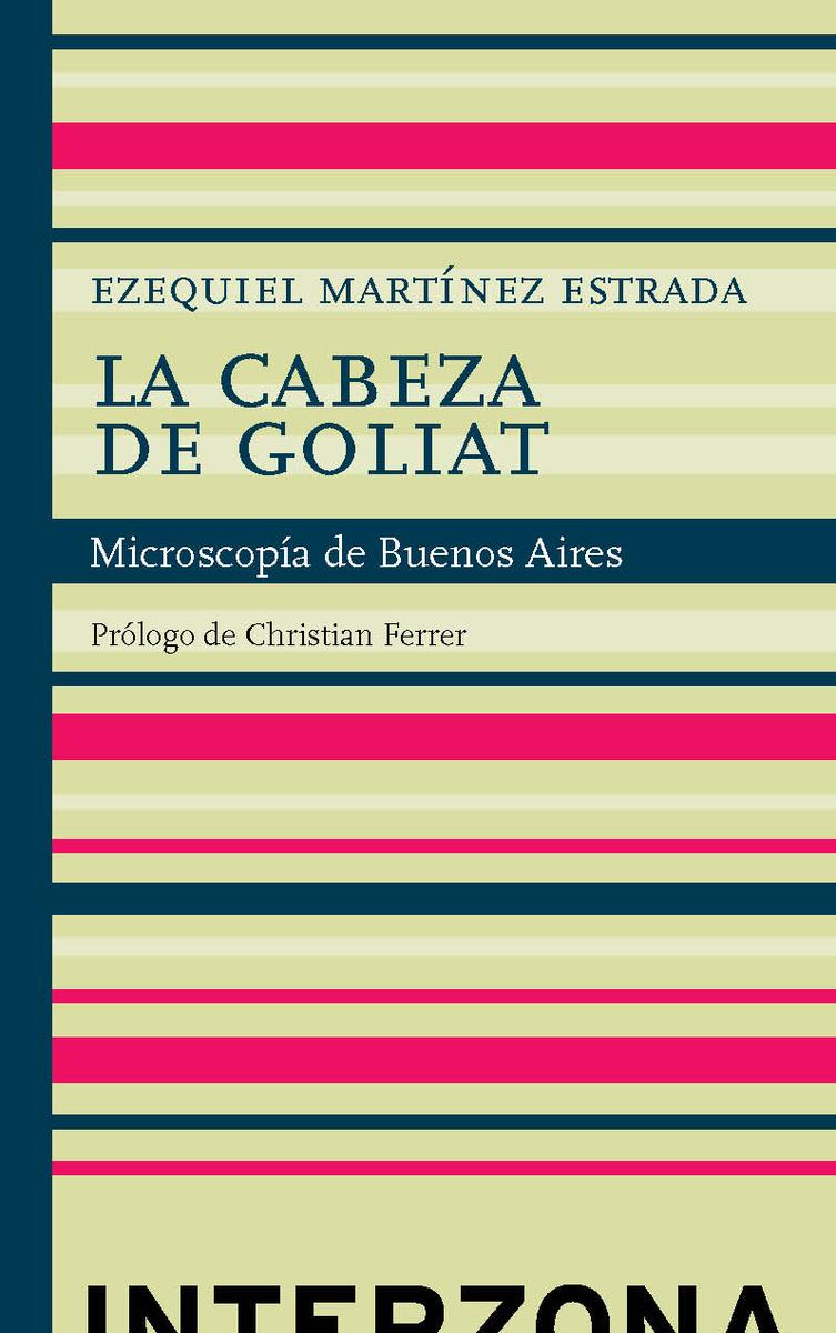 LA CABEZA DE GOLIAT: portada