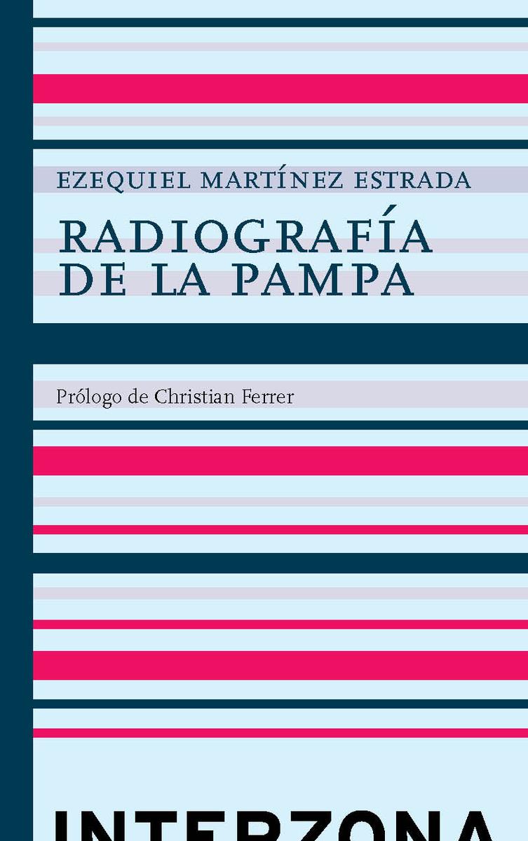 RADIOGRAFÍA DE LA PAMPA: portada