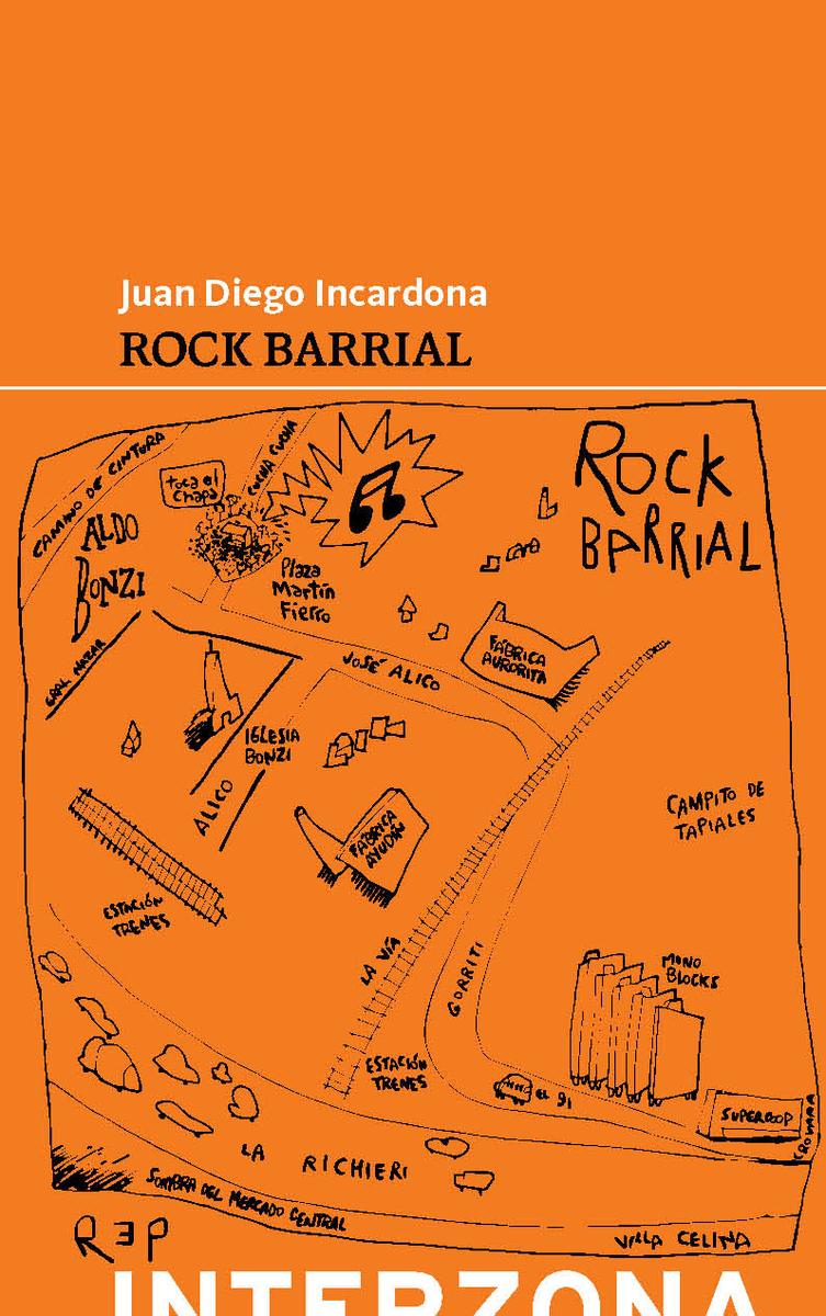 Rock barrial: portada