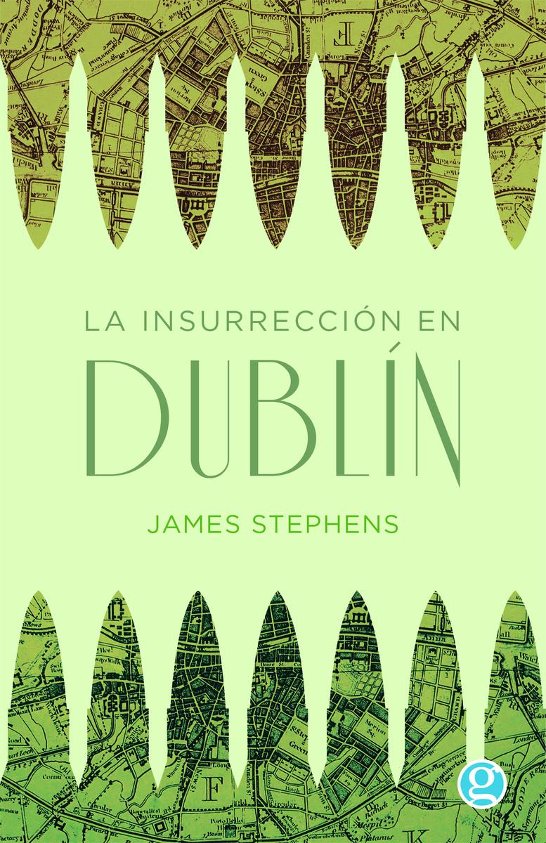 La insurrección en Dublín: portada
