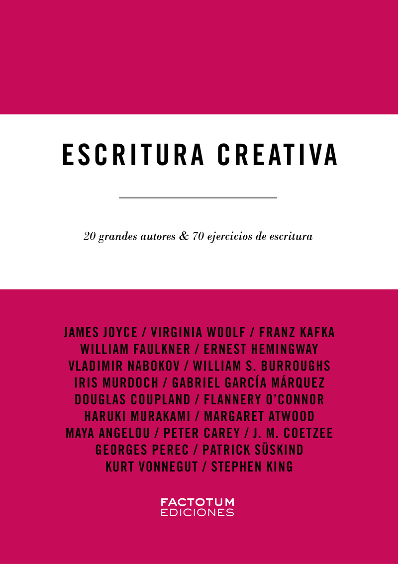 Escritura creativa: portada